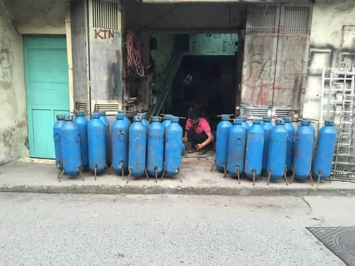 Bán bình bơm bóng bay hidro, oxi, heli, nito