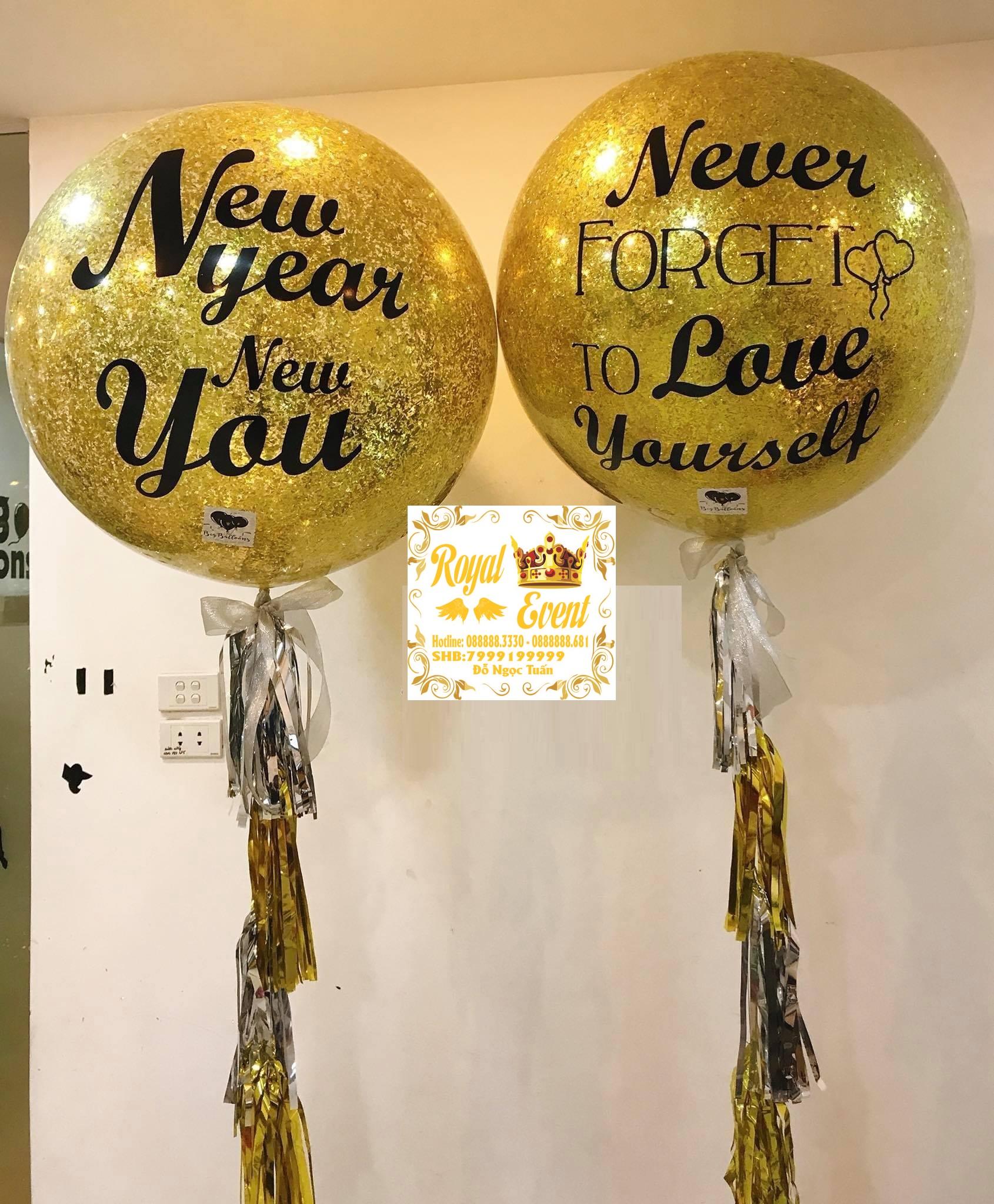 Bóng Bay Trang Trí Sinh Nhật Big Balloons