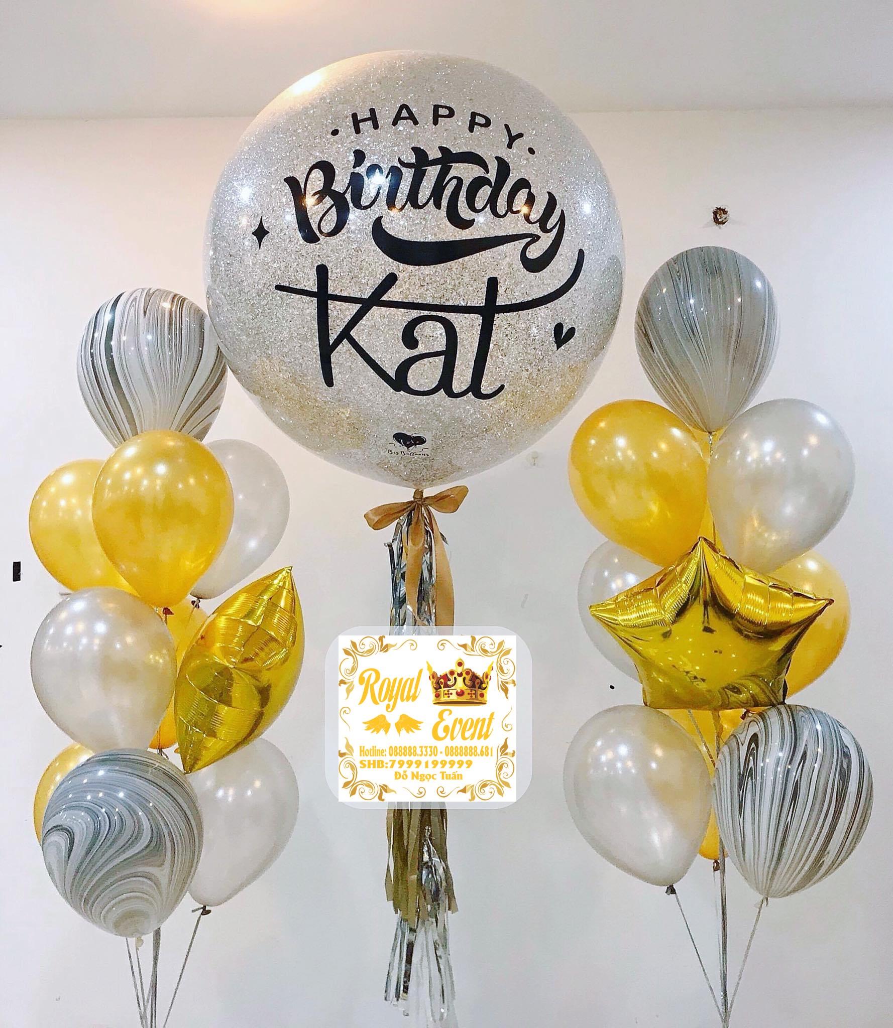 Bóng Bay Phòng Cưới Big Balloons