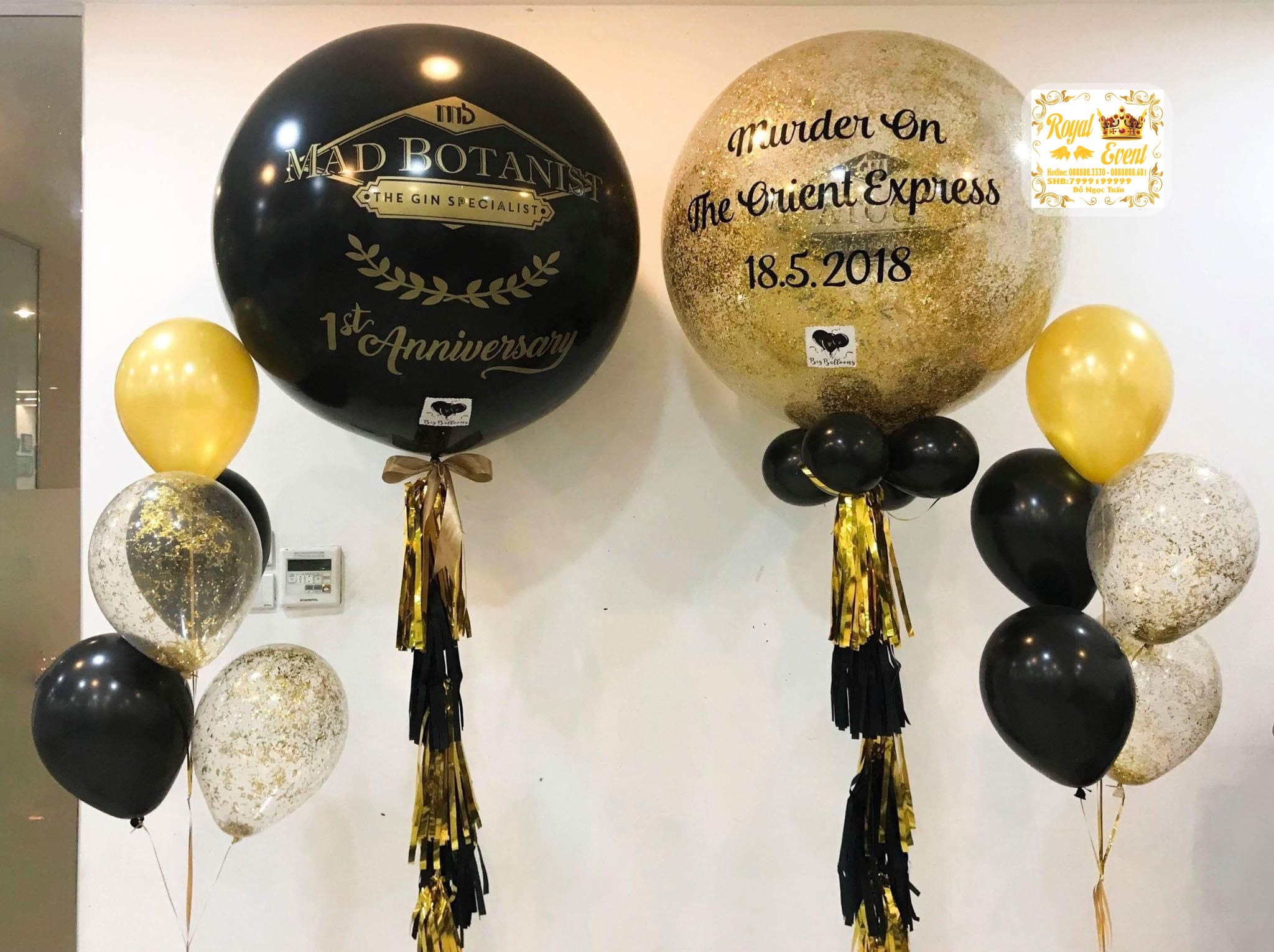 Bóng Bay Khai Trương Big Balloons